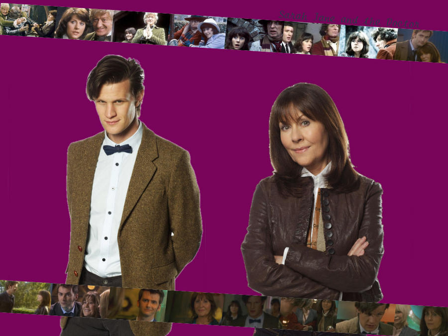 Sarah Jane and the Doctor by pfeifhuhn