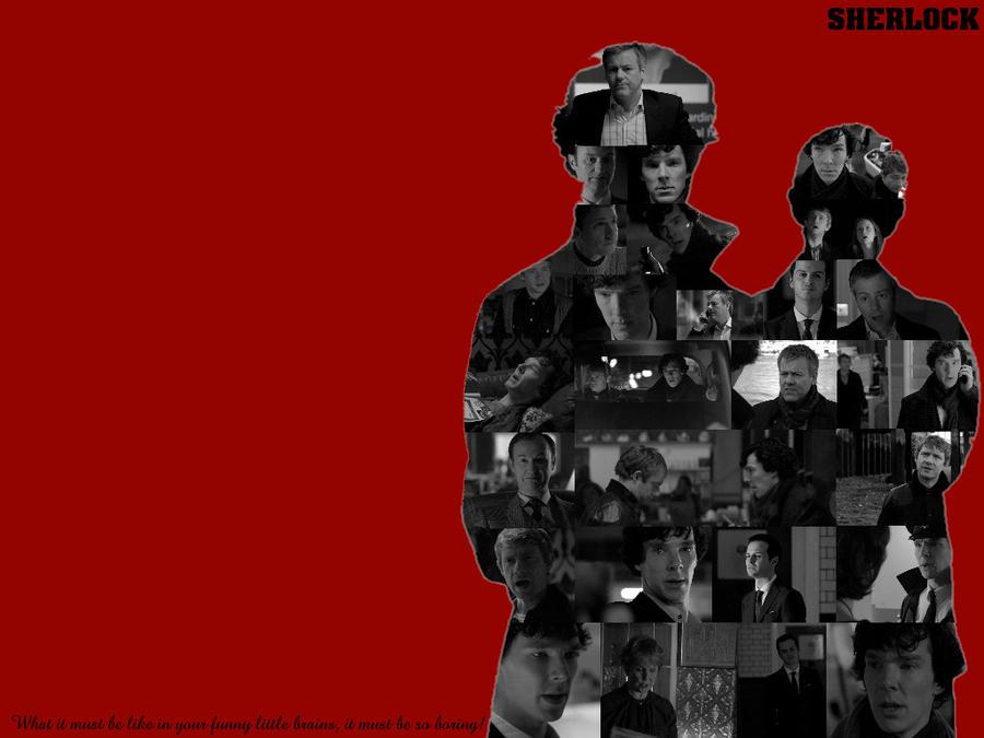 Sherlock-Wallpaper by pfeifhuhn