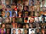 Many Faces of Martin Freeman
