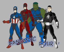 Fantastic Four II by BornAnimeFreak