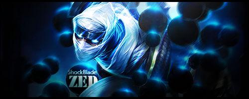 Zed Shock Blade
