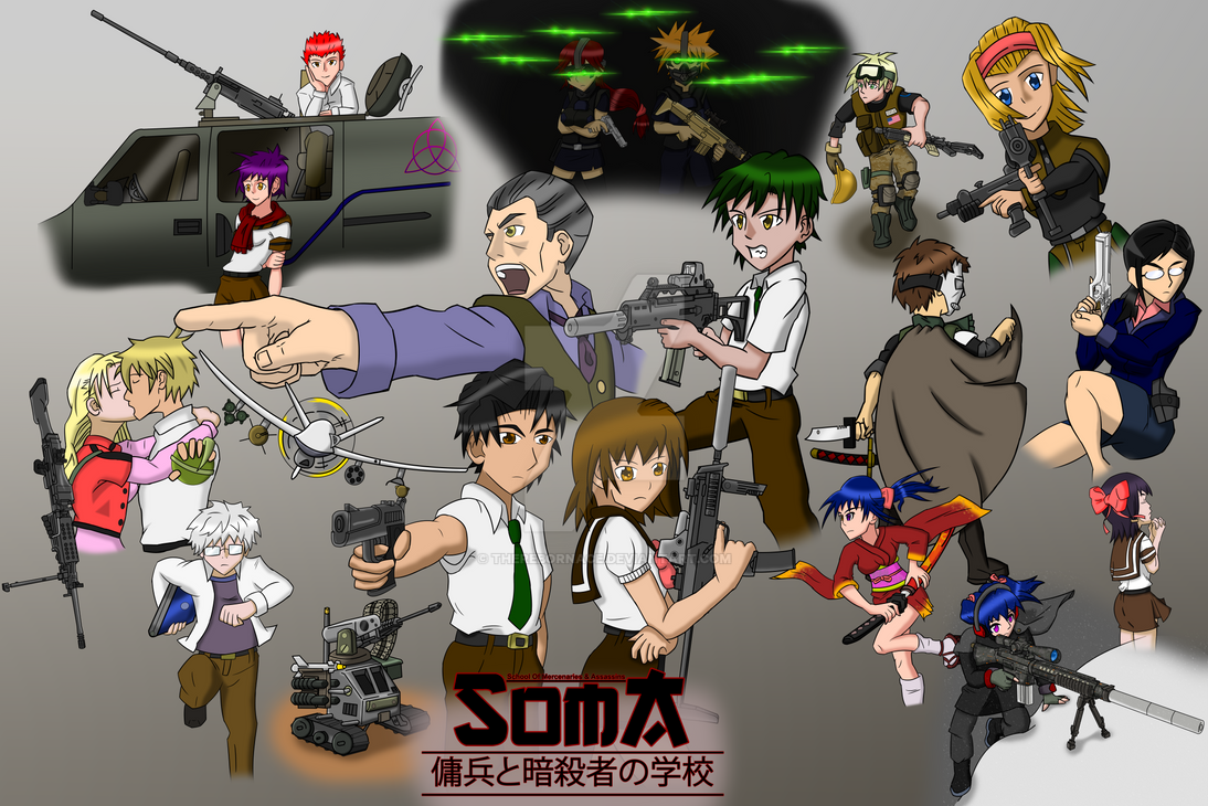Official SOMA Cover by TheRebornAce
