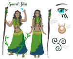 General Selva Reference by FaerieWarrior