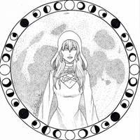 Witchtober 13: Lunar Witch
