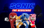 Sonic the Hedgehog fan poster