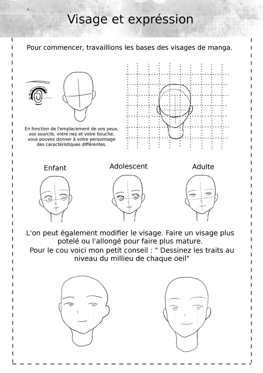 comment dessiner des mangas page 1 by makuramay