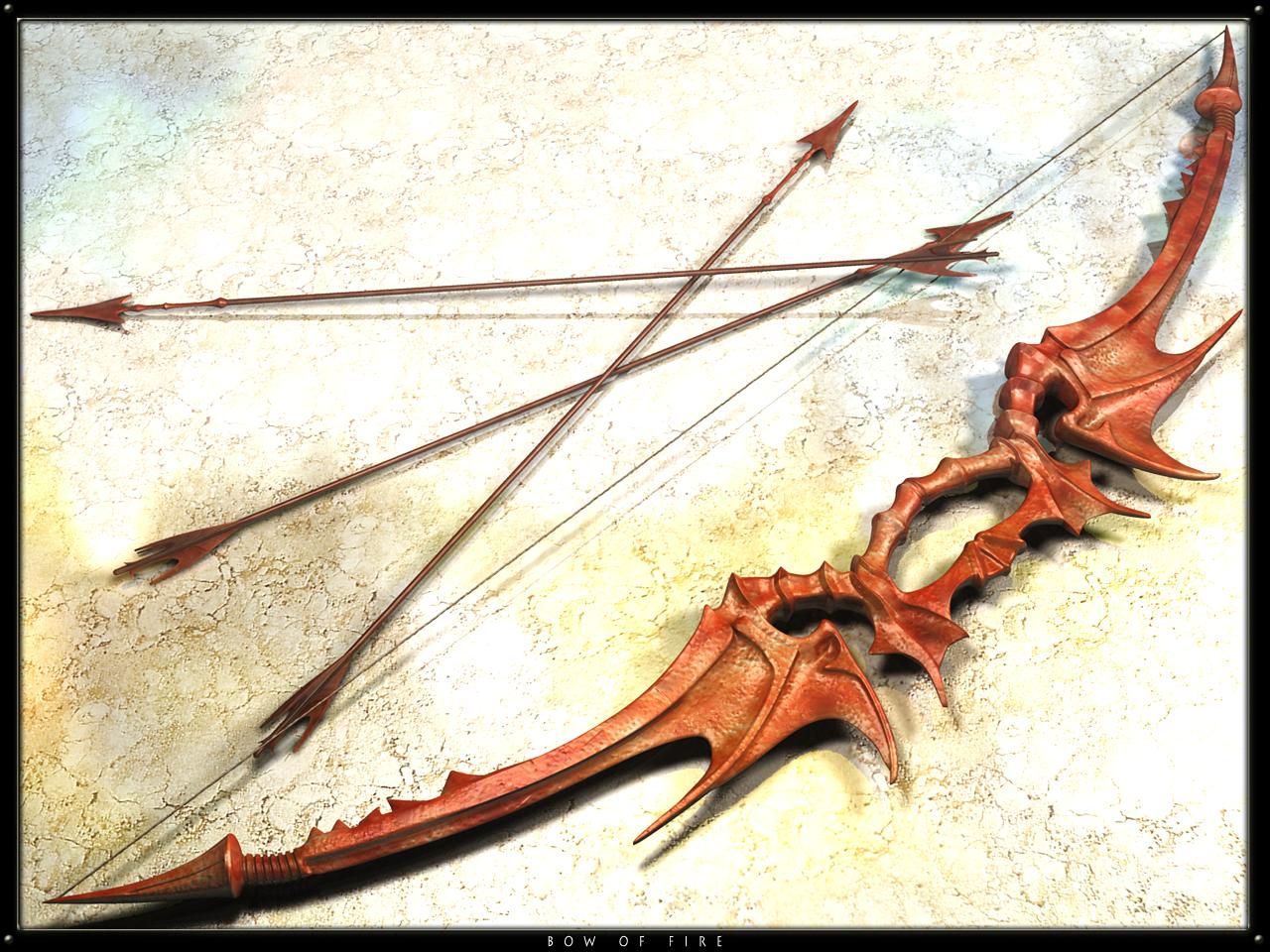 Bow And Arrow Shaped Cake