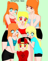 the red kids by darkbuttercup1