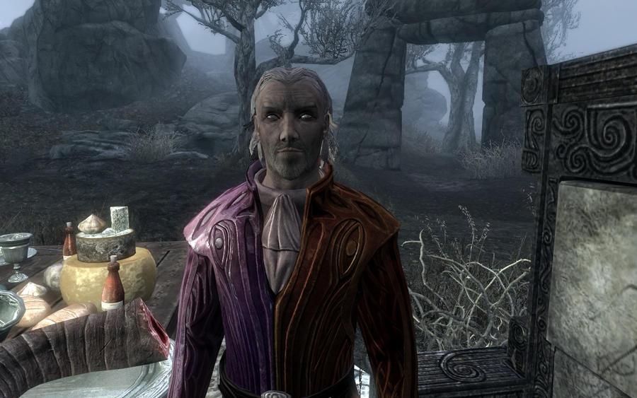 Skyrim Screenshots- Sheogorath by vincent-is-mine