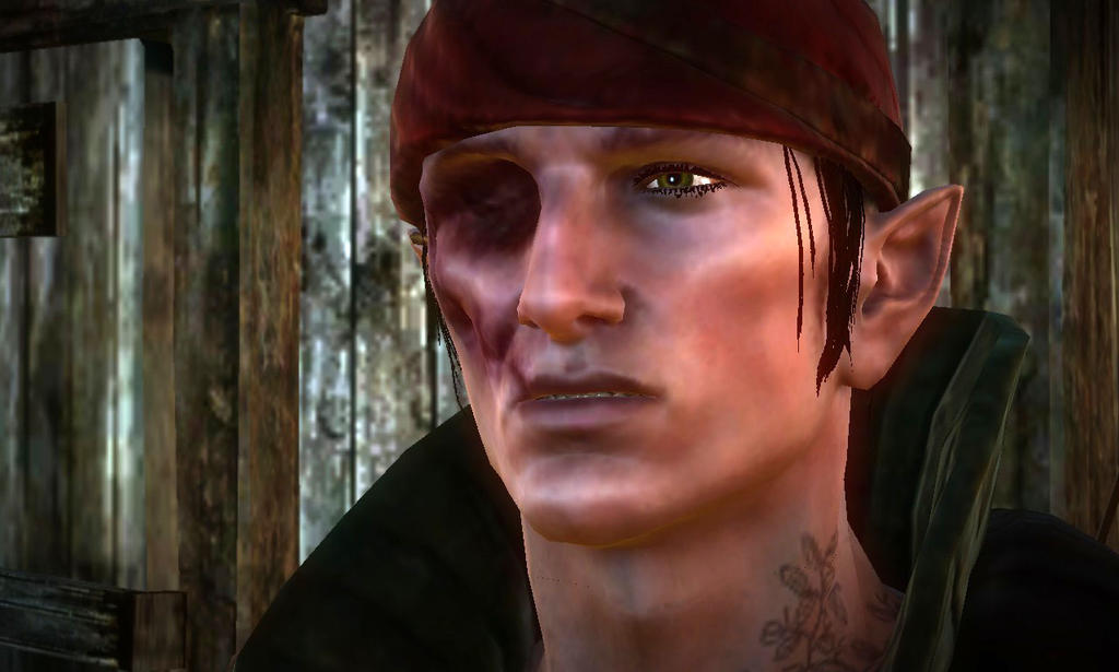 The Witcher 2- Iorveth Without Eye Patch by vincent-is-mine. the witcher 2 pat