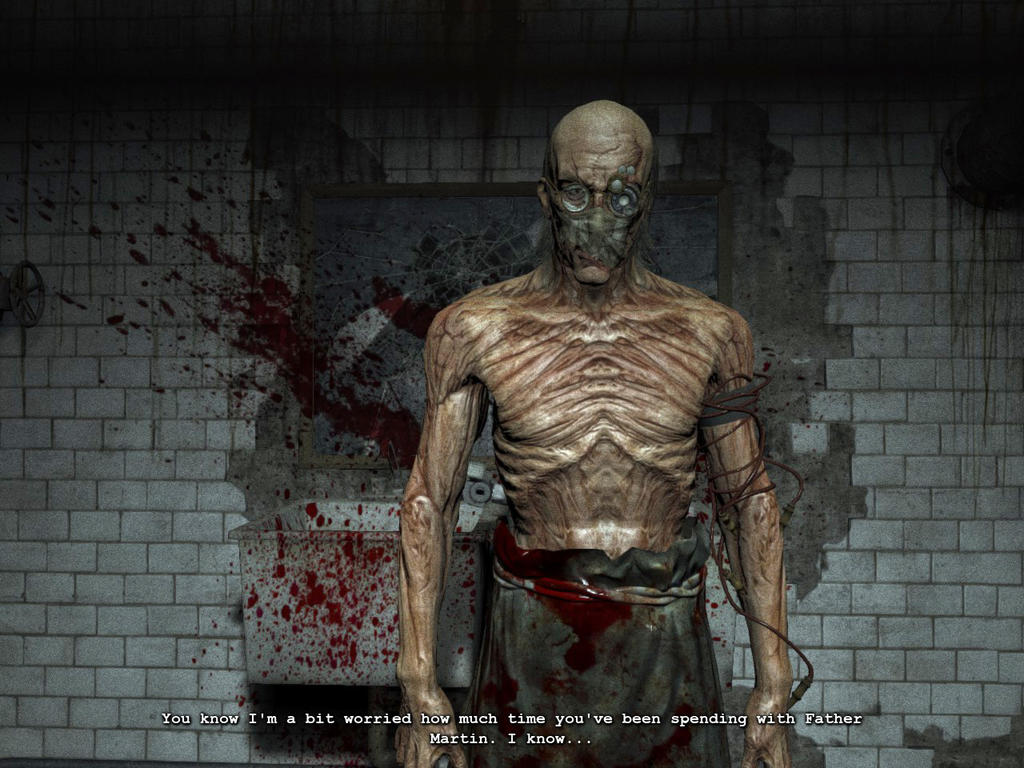 OUTLAST Screenshots- Dr. Richard Trager by vincent-is-mine ...