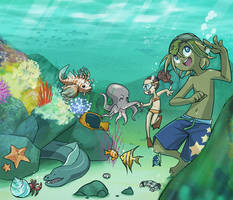 Under the Sea by lumi-mae