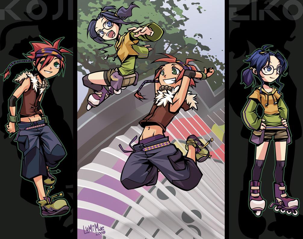 Hero: Koji and Eiko by lumi-mae