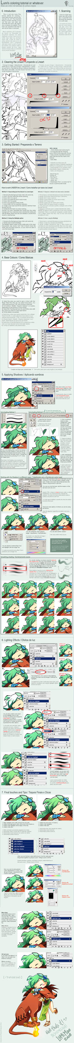 Photoshop: Colouring Tutorial