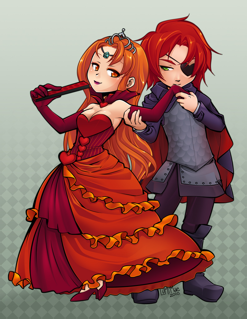 Queen and Knave by lumi-mae