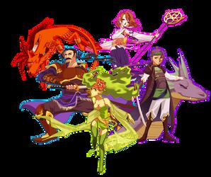Final Fantasy favorites - pt1 by lumi-mae