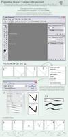 Photoshop: Lineart w Pen Tool