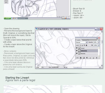 Photoshop: Lineart w Pen Tool by lumi-mae