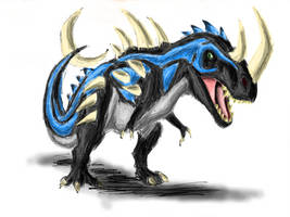 Mohamed the Albertosaurus by Creepy-Stag-Waffle