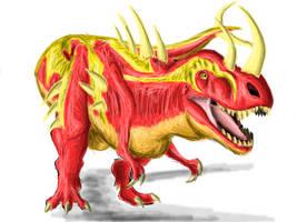 Baz the Tyrannosaurus by Creepy-Stag-Waffle