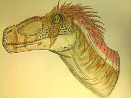 Jurassic Park III Velociraptor alpha by Creepy-Stag-Waffle