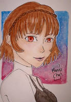 Makoto the 3rd year by Animequeen111