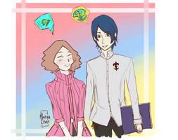 Haru And Yusuke by Animequeen111