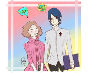 Haru And Yusuke by Animequeen111
