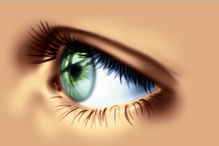 Realistic Eye by CraziAlchemist