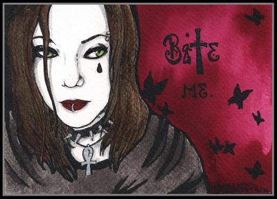 Bite me by Blutkuss