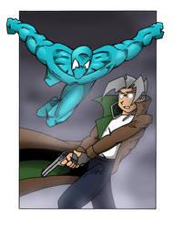 Karabear Comics vs. Twilight Trust by Raihnnon