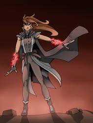 Human Sorceress by Raihnnon