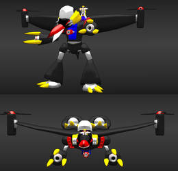 3d model Battle Warbird by Sl9086
