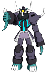 The obsidian judge: Metal Behemoth by Sl9086