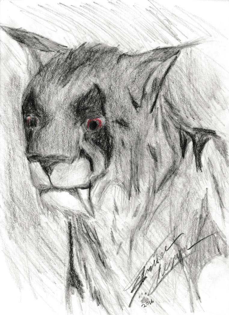 Beast in shadow by StrikerCheguar