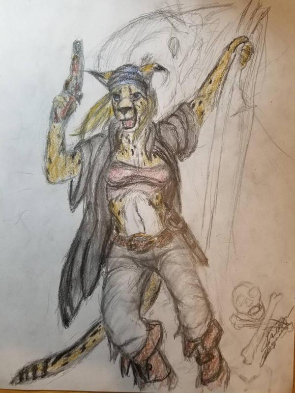 She's a Pirate! by StrikerCheguar