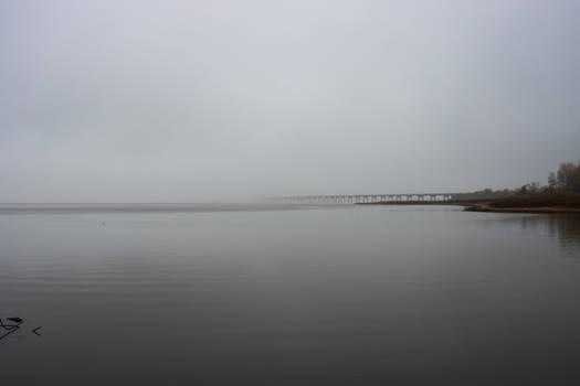 Spooky bridge to nothing