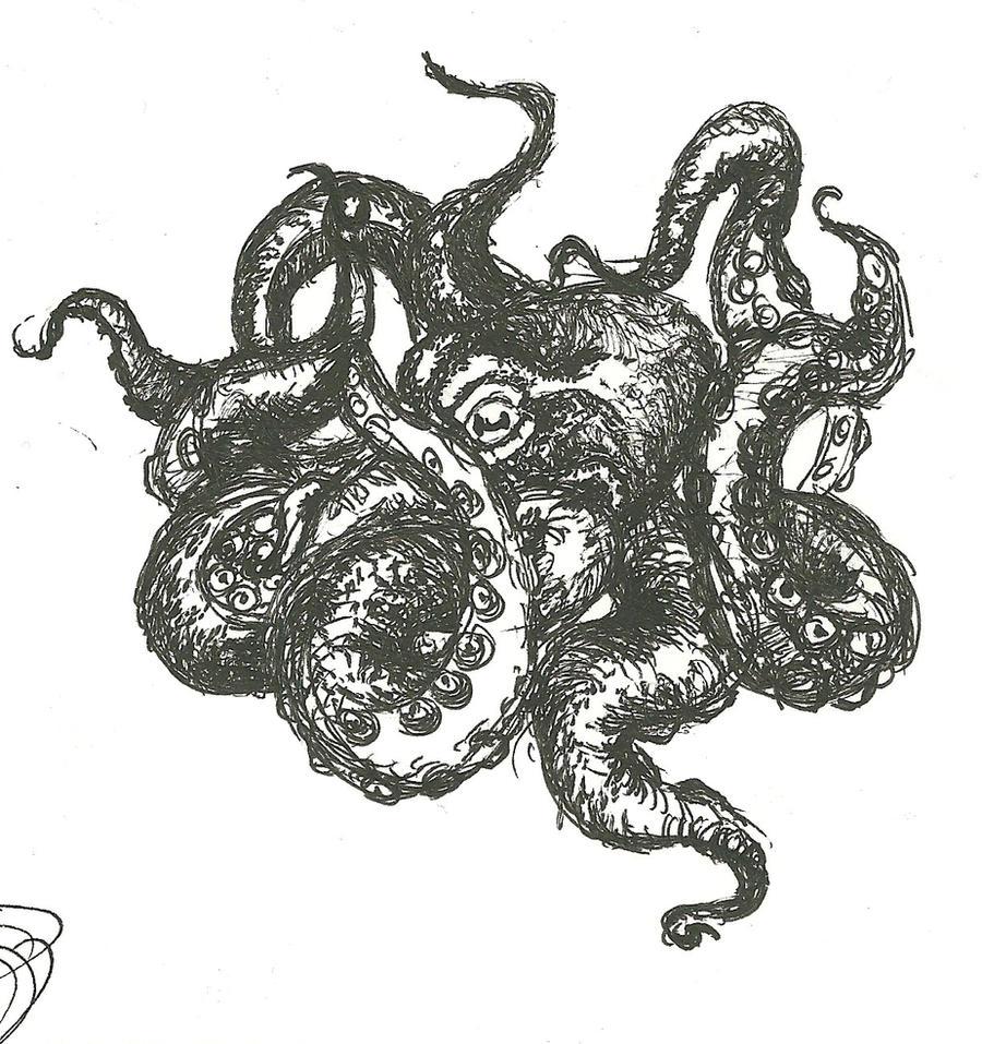 Octopus by fenrirhound
