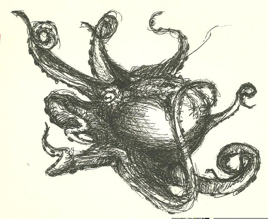 Octopus 2 by fenrirhound