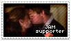 The Office - JimxPam Stamp by CheeseTitans