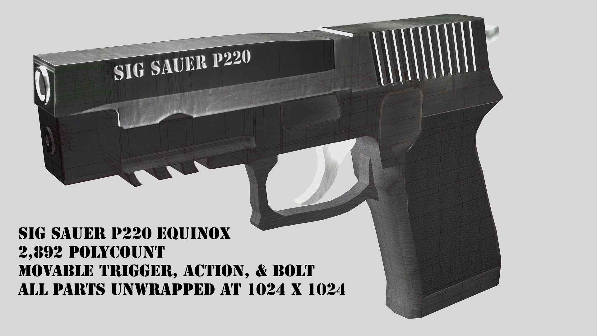 sig sauer p220 wallpaper