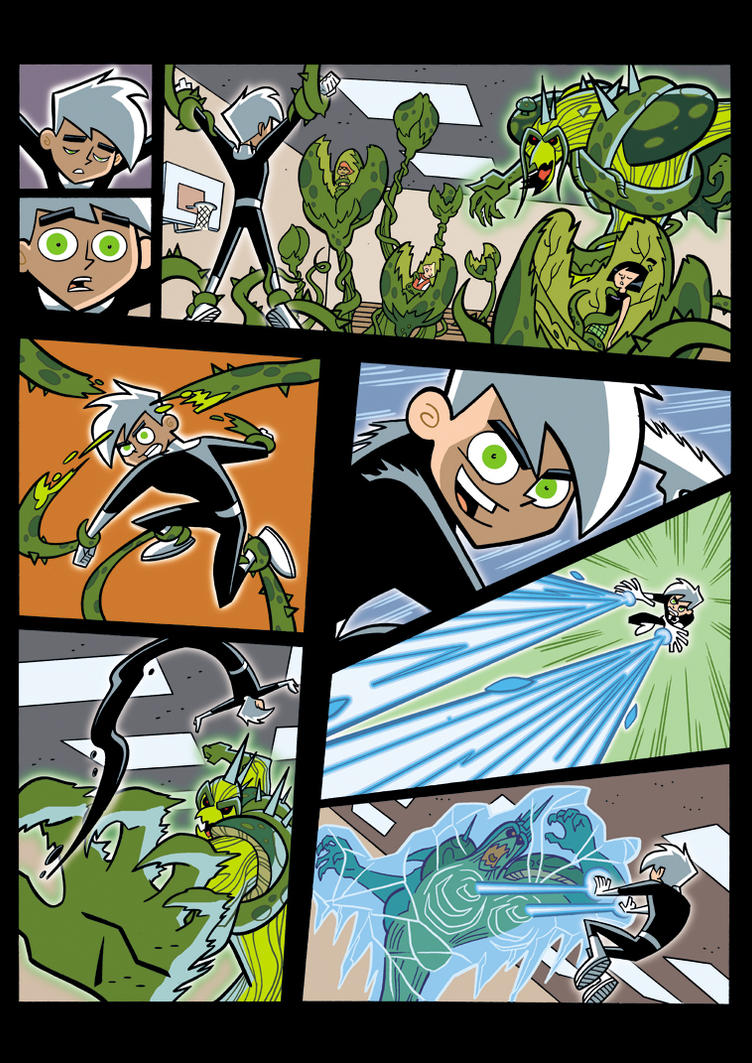 Danny Phantom.Seeing Red5 by EDarnes