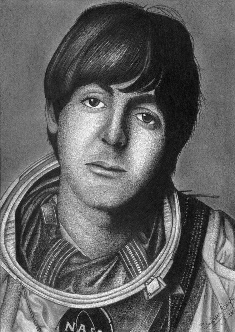 Paul McCartney 1965 By Vinicius Costa
