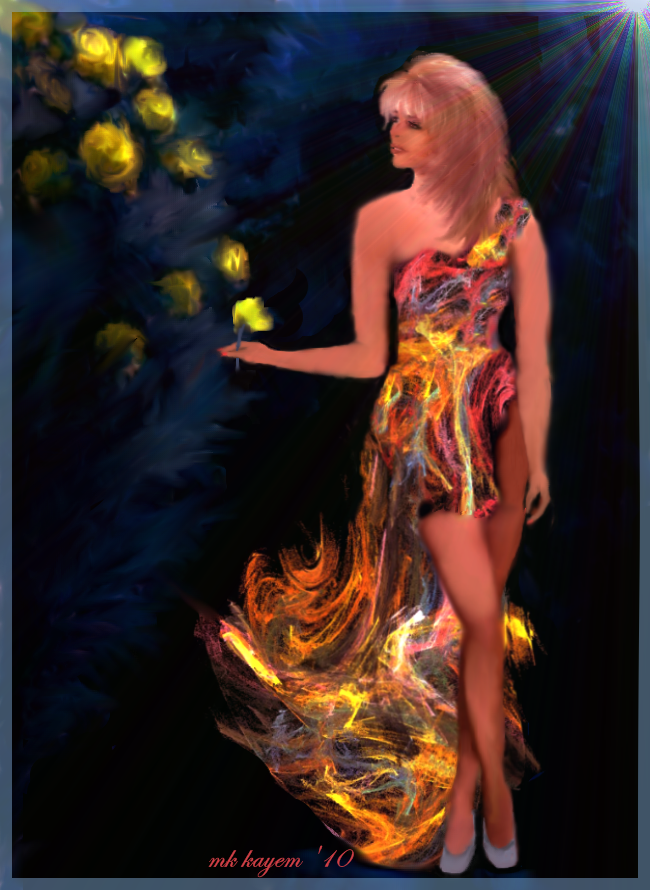Fractal Dress by mk-kayem