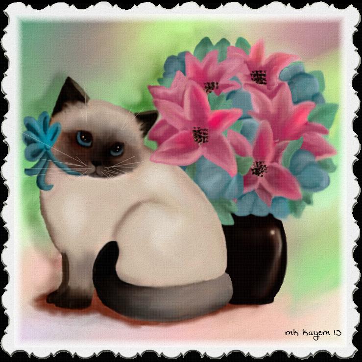 Kitten Still Life by mk-kayem