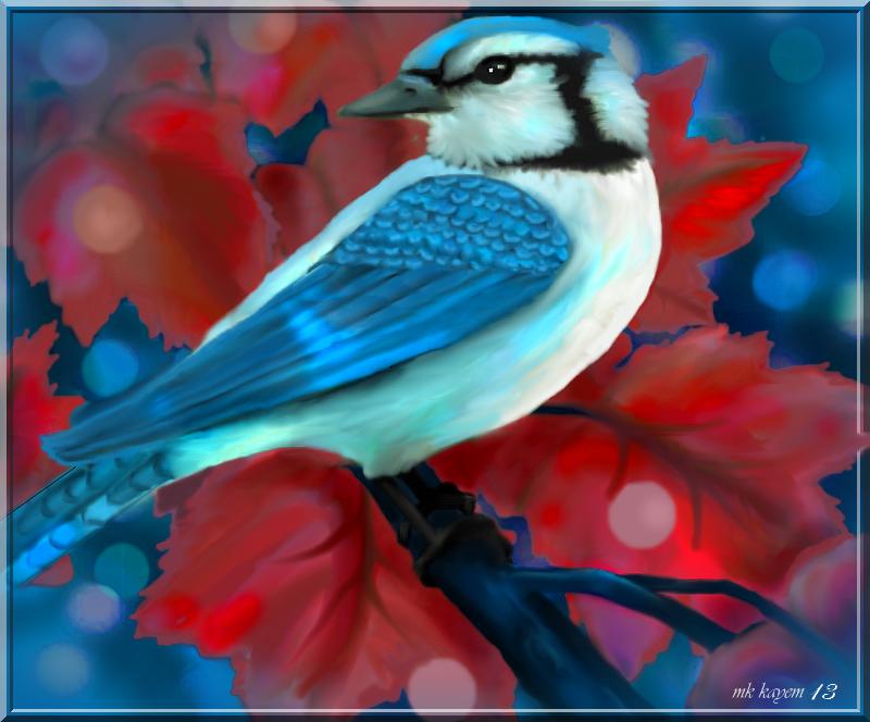 JayBird blue by mk-kayem