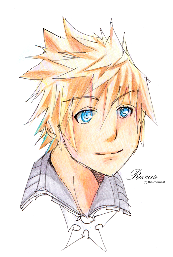 Roxas VI by the-merriest
