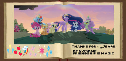 My Little Pony 10 Years of Friendship Is Magic