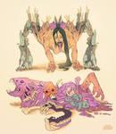 Creature Sketchbook #1