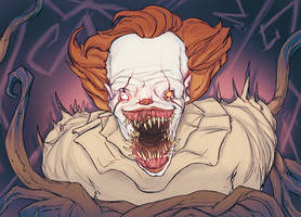 Pennywise sketch. by OddJorge